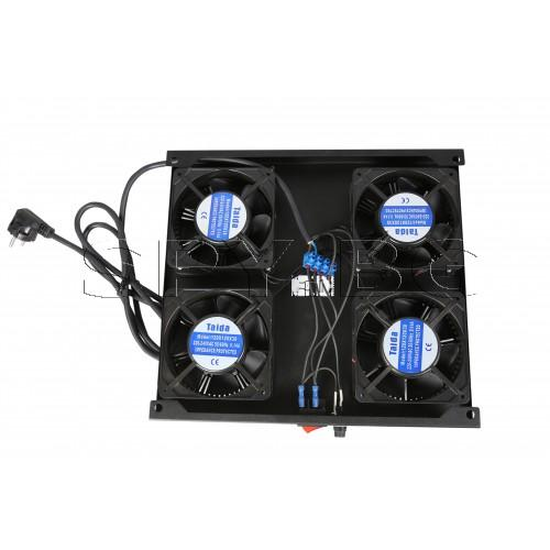 Модул с 4 вентилатора RACKSIS