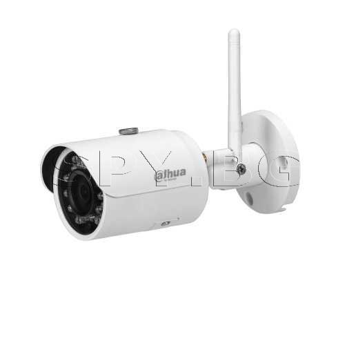 3MP Wi-Fi (безжична) IP водоустойчива камера Dahua
