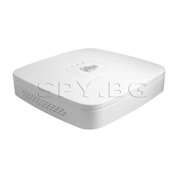 4-канален NVR с 4 LAN порта с PoE захранване Dahua