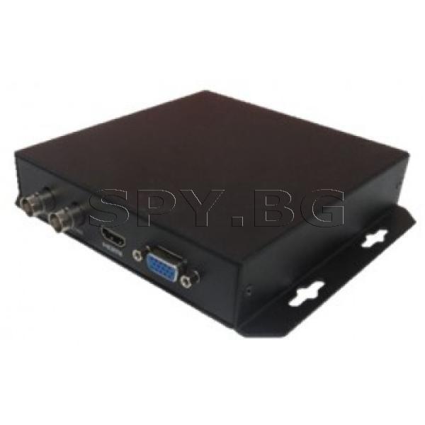 Едноканален HDCVI конвертор Dahua