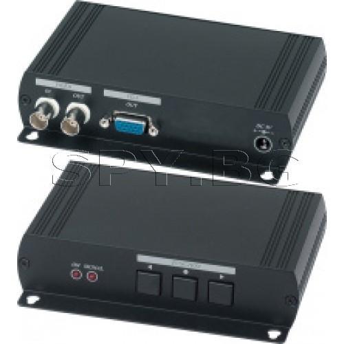 Конвертор на аналогов видеосигнал към HDMI  Dahua