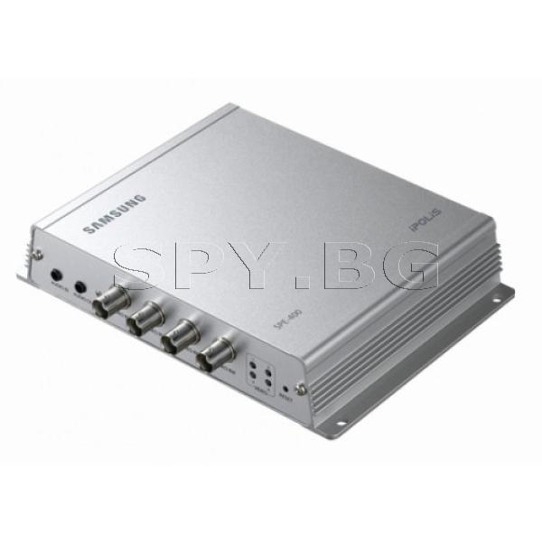 4-канален мрежов видеосървър SAMSUNG