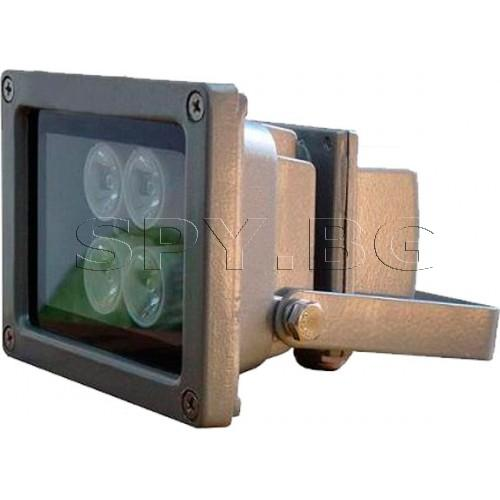 Инфрачервен прожектор до 60 м