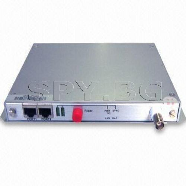 Приемник/предавател за пренос на 1 видеосигнал до 40км
