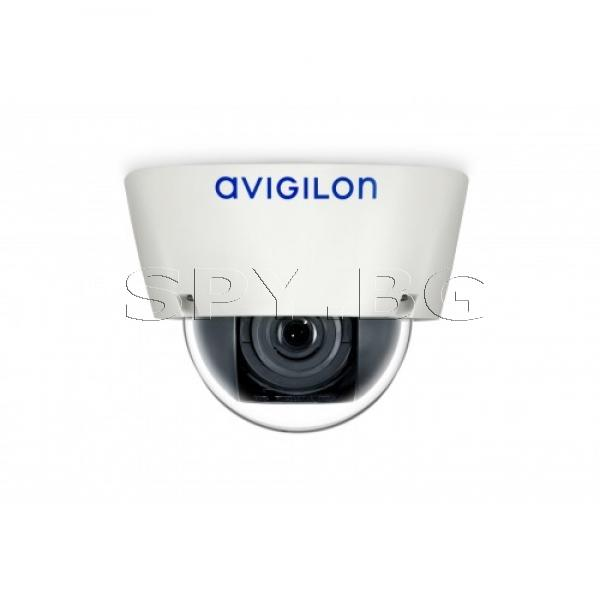 5MP куполна, IP камера с Адаптивен видео анализ AVIGILON