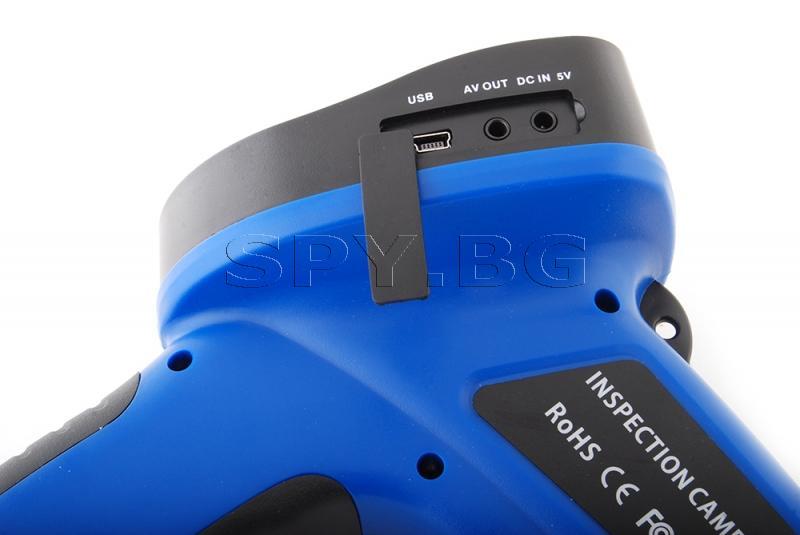 Инспекционна камера с кабел 3 метра, дисплей и запис