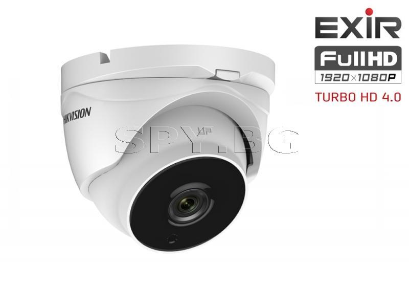 HD-TVI куполна камера 2MP с моторизиран варифокален обектив HIKVISION
