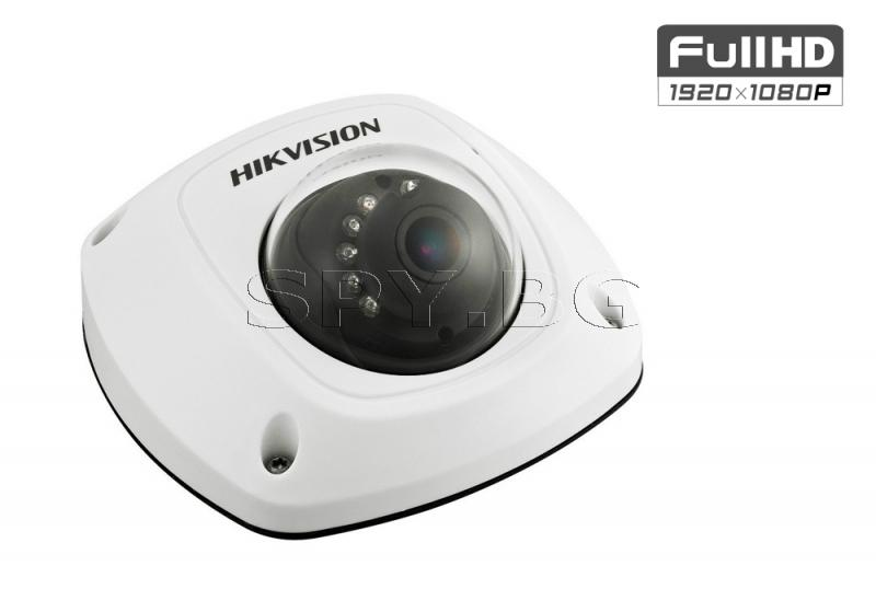 HD-TVI куполна Ultra-Low Light камера 2MP FullHD - HIKVISION