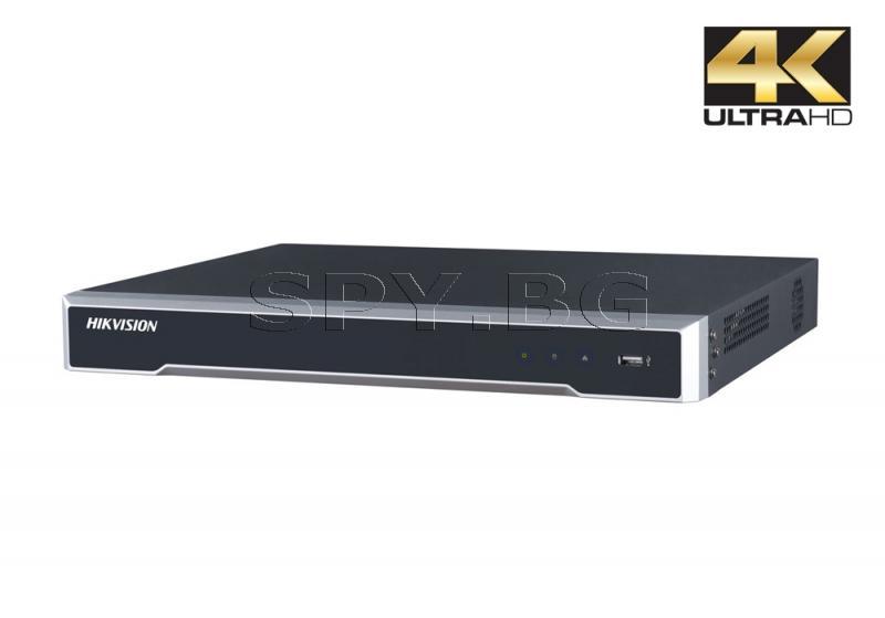 16-канален 4K мрежов рекордер/сървър - HIKVISION