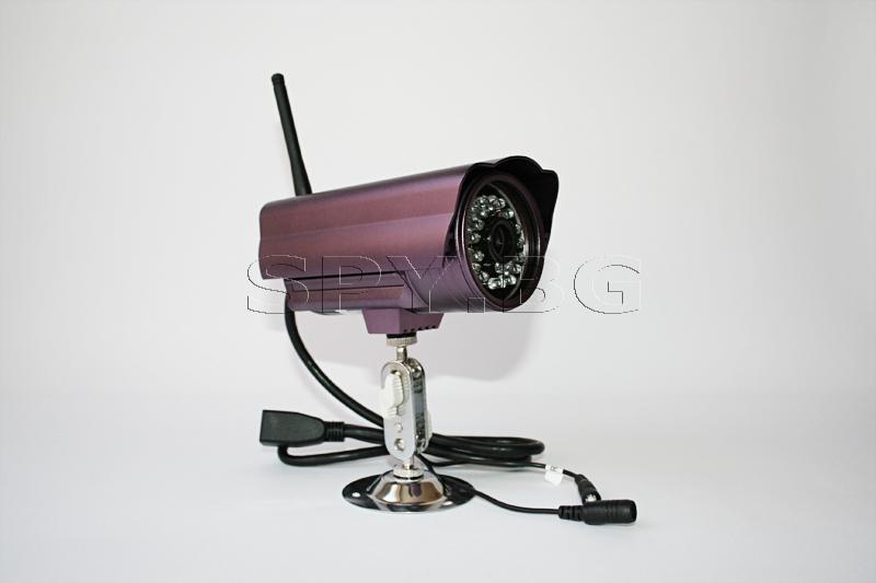 Водоустойчива IP камера за външен монтаж