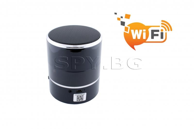 Подвижна IP камера в bluetooth колонка