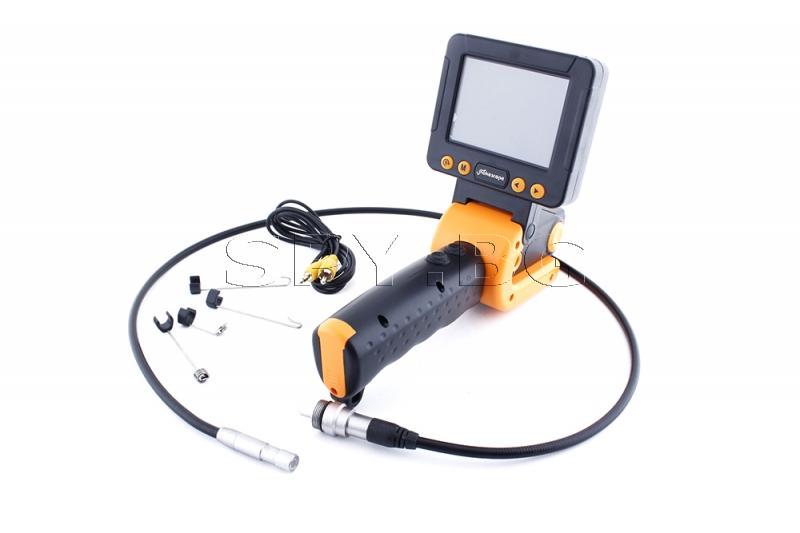 Ръчен ендоскоп с 3.5 инчов монитор, 9,5мм/1м