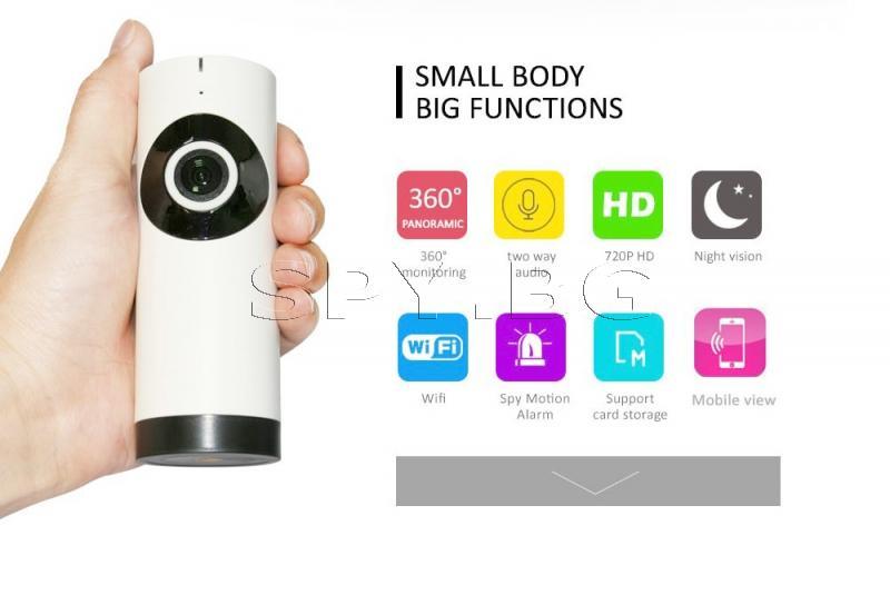 Широкоъгълна IP камера