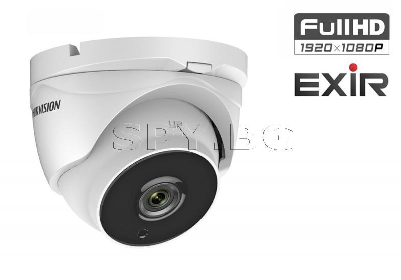 HD-TVI куполна Ultra-Low Light камера 2MP до 40м HIKVISION