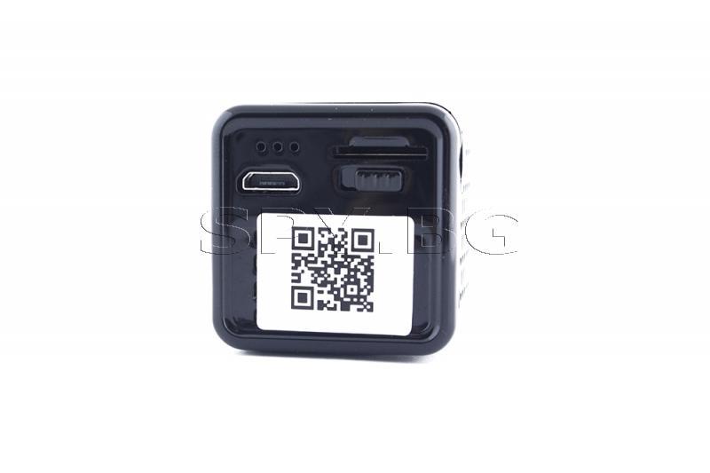 Мини 4к IP камера с четири диода