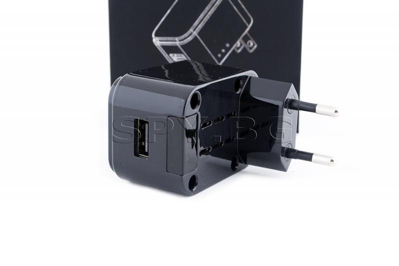 HD IP камера, скрита в адаптер