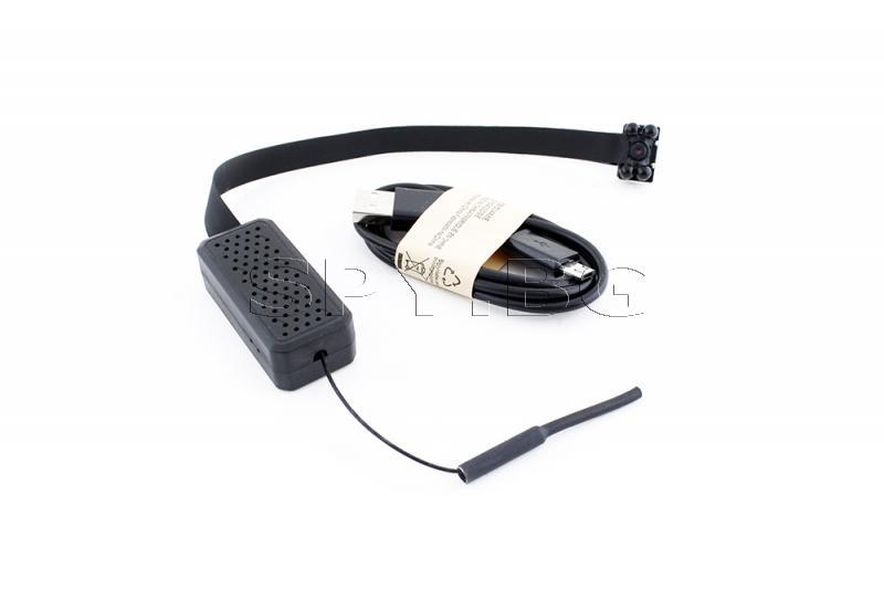 4K IP камера за вграждане с 4 черни диода