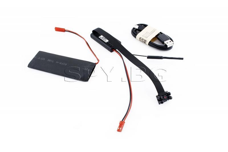 IP камера за вграждане  с четири черни диода и дълго време на работа