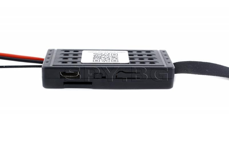 IP камера за вграждане с шест диода - 4к, с дълго време за работа