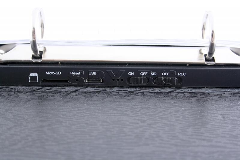 Скрита камера в имитация на тефтер