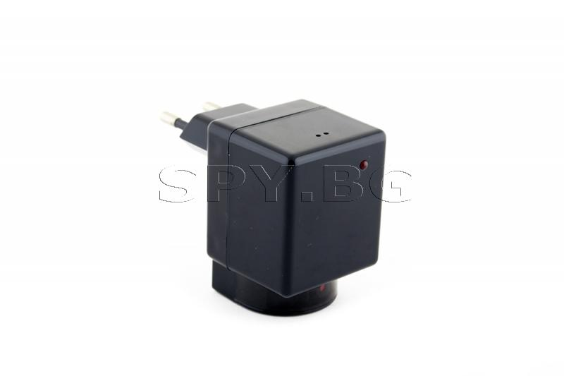 IP камера в адаптер, с въртящ се обектив