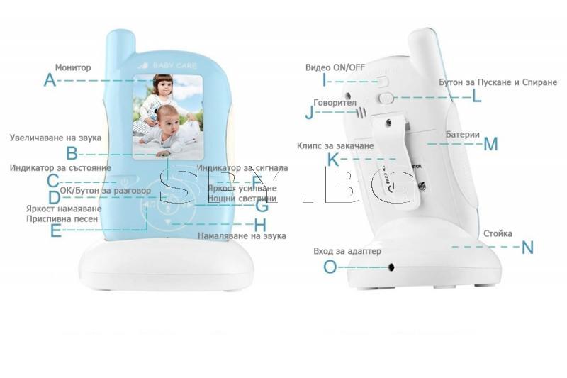2.4 GHz бебефон