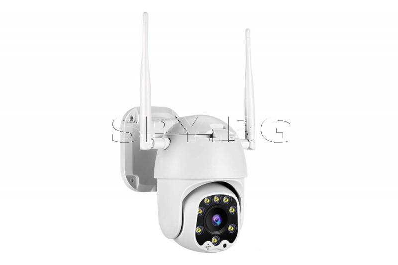 FullHD IP камера за външен монтаж - подвижна