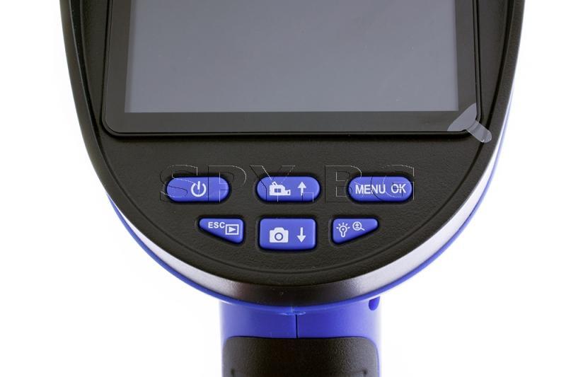 Ръчен ендоскоп с 4 мм камера и запис - 3 м