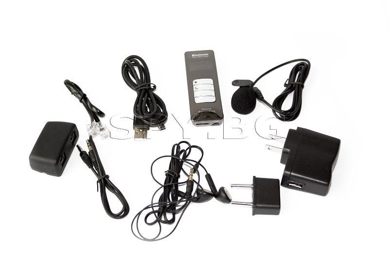 Bluetooth аудио рекордер - 6 часа