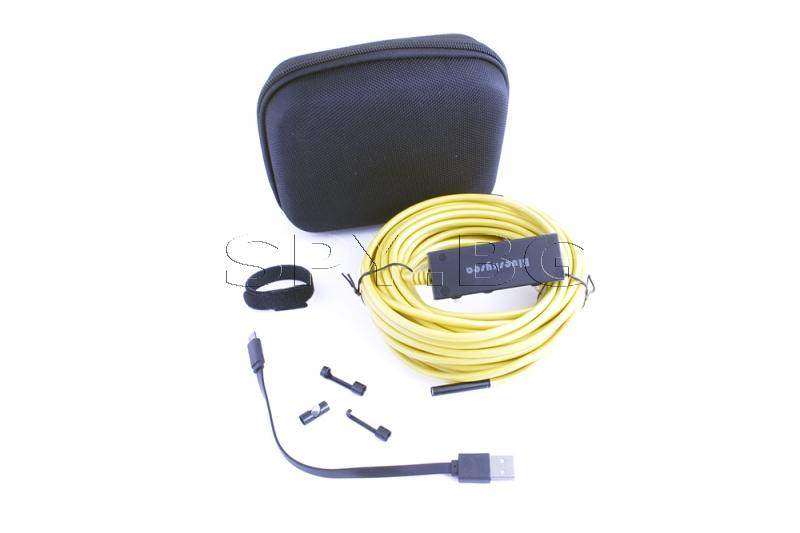 Ендоскоп с гъвкав кабел - 10 м.