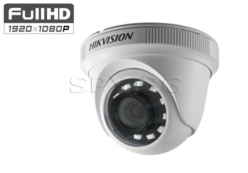 HD-TVI /AHD/CVI/CVBS куполна камера 2MP HIKVISION