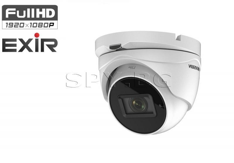 HD-TVI корпусна камера 4in1, VF обектив - 2MP - HIKVISION