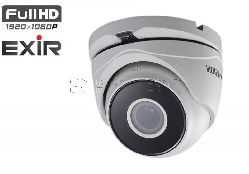 HD-TVI куполна Ultra-Low Light камера (4 in 1) - HIKVISION