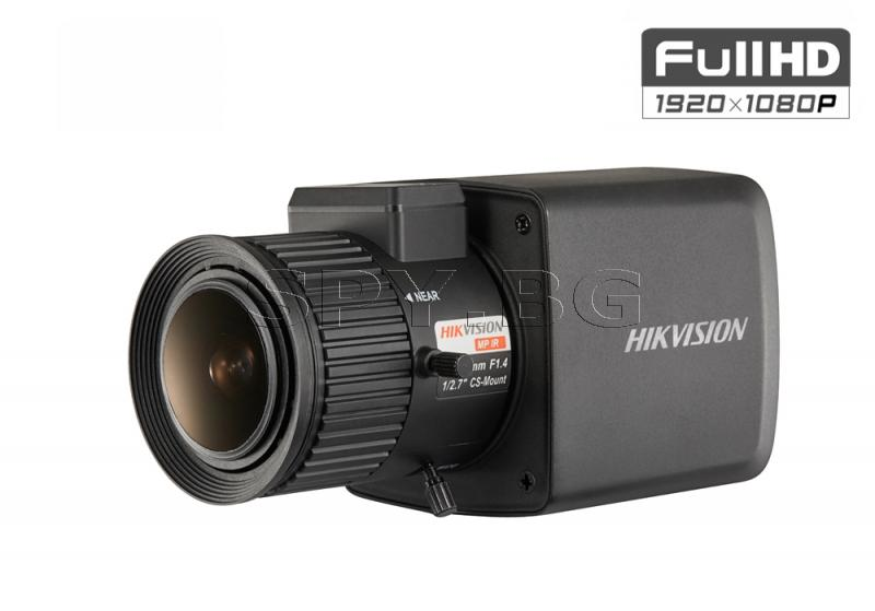 HD-TVI куполна Ultra-Low Light камера 2MP FullHD HIKVISION