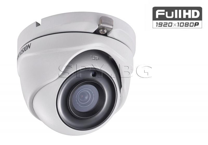 HD-TVI куполна камера с обектив 2MP HIKVISION