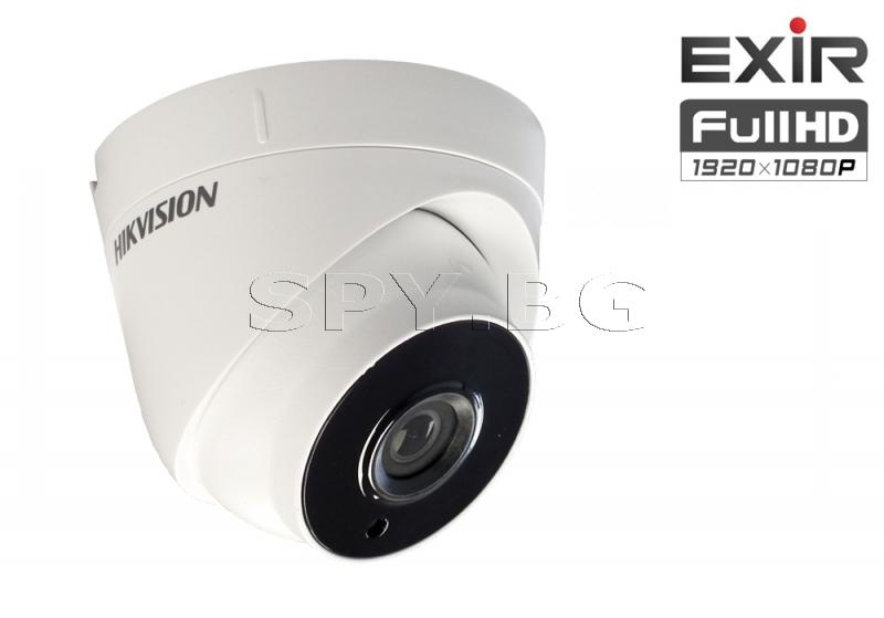 HD-TVI куполна камера 2MP с EXIR технология HIKVISION