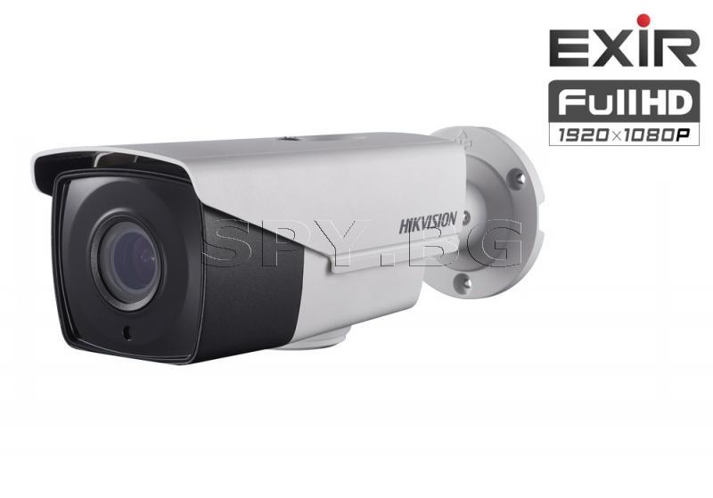 HD-TVI корпусна камера 2MP с EXIR технология до 40м HIKVISION