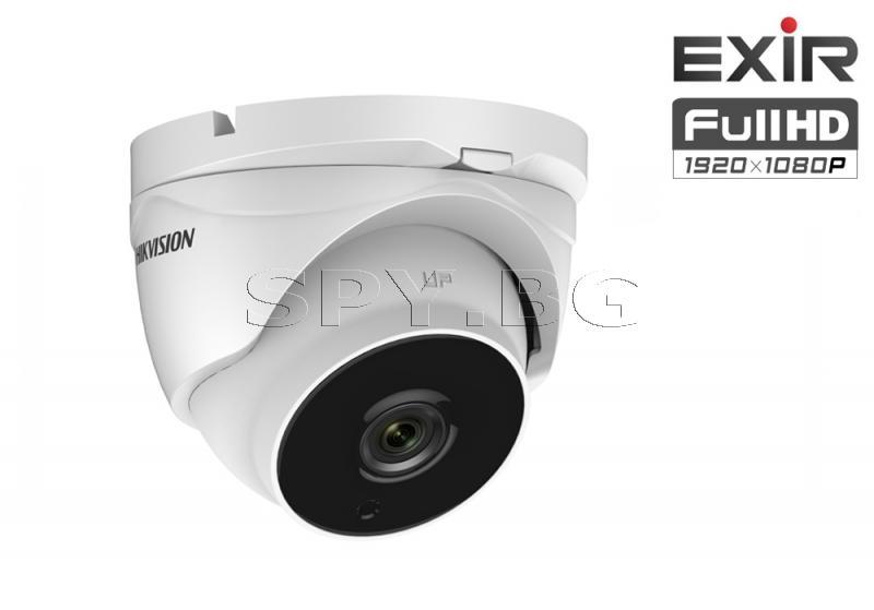 HD-TVI куполна Ultra-Low Light камера 2MP - HIKVISION
