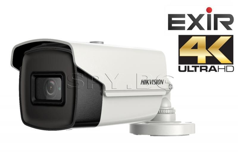 HD-TVI корпусна камера 8Mp - HIKVISION