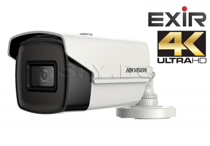 4K HD-TVI корпусна камера - HIKVISION