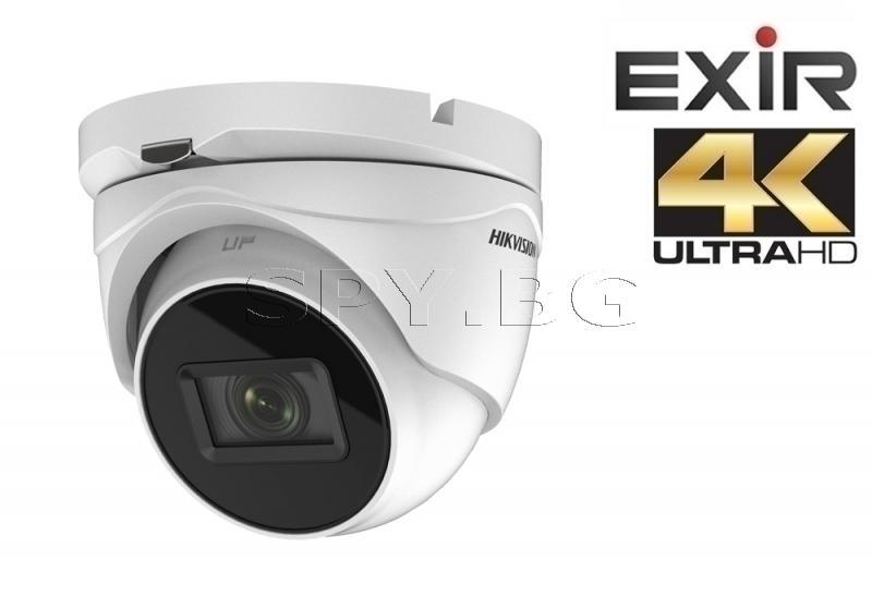 4K HD-TVI камера с моторизиран варифокален обектив - HIKVISION