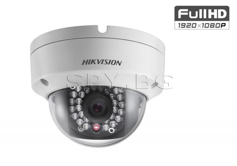 2MP куполна IP камера с вградено IR осветление до 30 м - HIKVISION