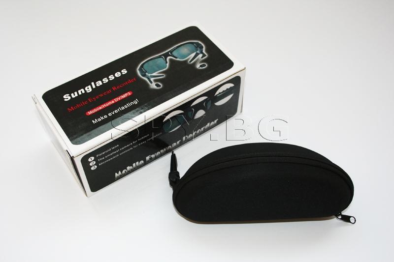 Шпионска камера, MP3, слънчеви очила - 4GB