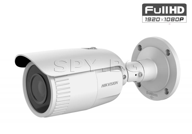2MP корпусна IP камера с осветление до 30м и моторизиран обектив - HIKVISION