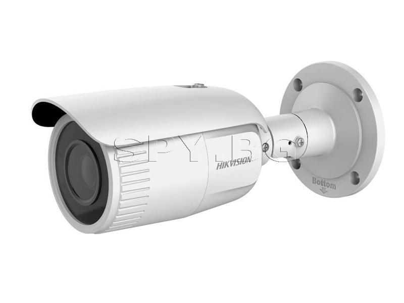 4MP корпусна IP камера моторизиран варифокален обектив - HIKVISION