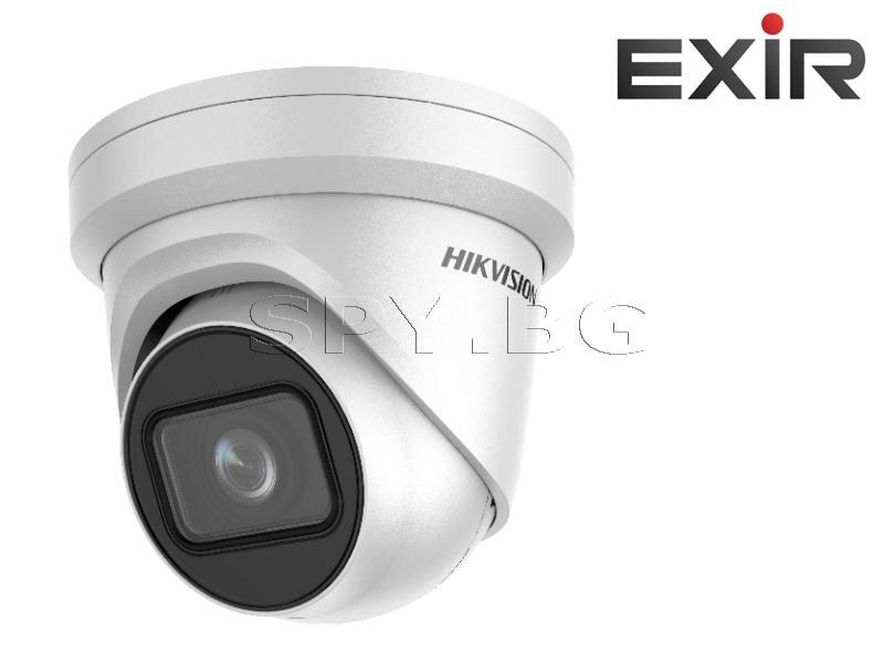 6MP куполна IP камера  s моторизиран варифокален обектив - HIKVISION