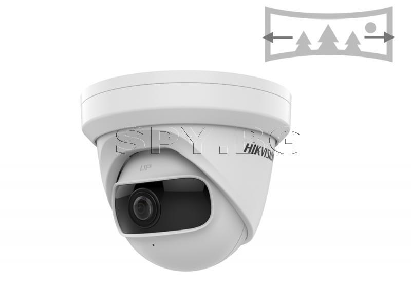 4MP панорамна куполна IP камера с панорамен обектив - HIKVISION