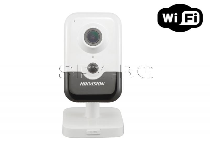 Безжична 2MP компактна IP камера Ден/Нощ - HIKVISION