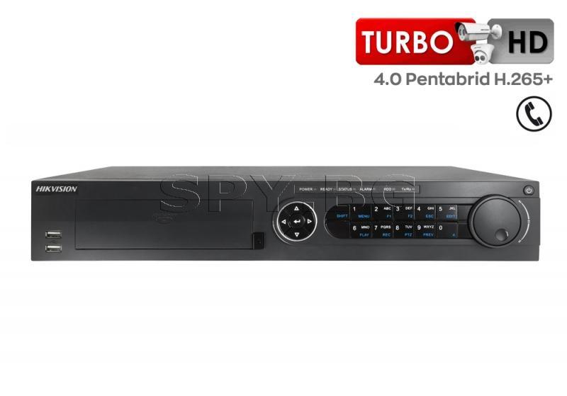 32-канален пентабриден HD-TVI/AHD/CVI/IP цифров рекордер - HIKVISION