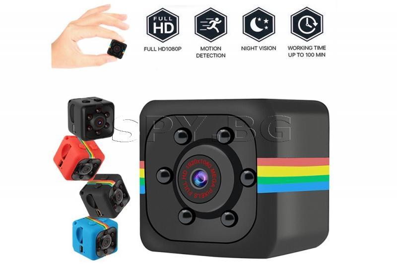 FullHD мини камера с детектор за движение